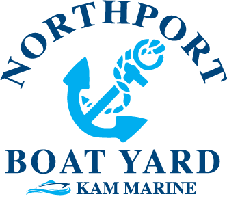 northport two colored logo with anchor